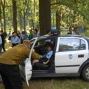 Policjanci uskautek