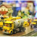 Wystawa budowli zklocków Lego wPasażu Grunwaldzkim