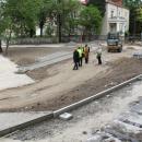 Budowa ul. Klubowej iparkingu