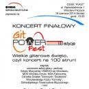 Koncert Finałowy GitPOWERfest