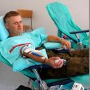 Żołnierze dali krew
