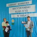 Gminny Konkurs Recytatorski klas IV-VI