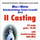 Drugi casting dotytułu Miss iMistera BŚC 2015