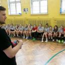 Kamil Syprzak trenował zpiłkarkami weWrocławiu