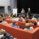 Ocalić odzapomnienia - spotkanie uczniów zTadeuszem Jurkowskim