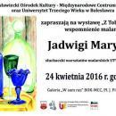 Wspomnienia malarskie Jadwigi Maryniak