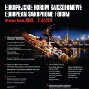 Europejskie Forum Saksofonowe 2017