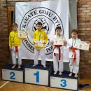 16  medali  karateków wLubinie
