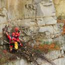 Miękińscy strażacy w... areszcie ikamieniołomach