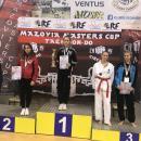 10 medali Legnickiego Klubu Taekwon-do wMaster Mazovia Cup 2017