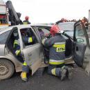 Ćwiczenia służb ratowniczych na S5