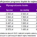 Ponad 21 tysięcy dopłaty donajmu wnowym rządowym programie