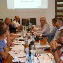 Spotkanie gmin wsprawie przebudowy autostrady A4