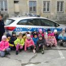 Dzieci zGościszowa odwiedziły policjantów