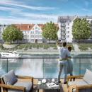Kolejne wrocławskie apartamenty zwidokiem na Odrę