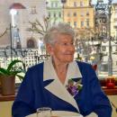 Życzenia dla pani Janiny Matusiewicz zokazji 100 urodzin