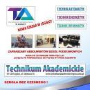 Rekrutacja doTechnikum Akademickiego iAkademickiego Liceum Ogólnokształcącego
