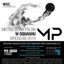 Mistrzostwa Polski wsquashu weWrocławiu