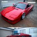 Ferrari Testarossa zpneumatycznym zawieszeniem zawita doWrocławia