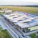 To pierwsze takie fotografie Portu Lotniczego Wrocław