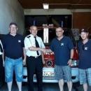 Rewizyta druhów strażaków OSP zGminy Grossharthau wMalczycach