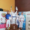 Udany start karateków wProchowicach