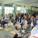 Pierwsze spotkanie zrodzicami wSzkole Podstawowej wUdaninie