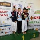 4  medale karateków wPilznie