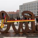 Odsłonięcie rzeźby LOVE HATE