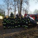 Ćwiczyli strażacy zWilczkowa