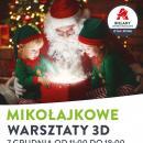 Mikołajkowe warsztaty 3D