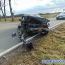 Spowodował kolizję i… zasnął za kierownicą