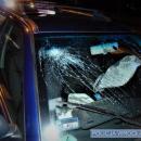 Uderzył samochodem wsłup oświetleniowy