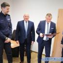 Przekazanie sprzętu dla Komendy Miejskiej Policji weWrocławiu