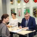 Spotkanie zradnymi isołtysami zgminy Długołęka