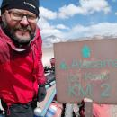 Marcin Korzonek wjechał rowerem na prawie 6000 m n.p.m. - sukces wyprawy Kross The Record