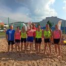 Świetny występ kobierzyczanek na Młodzieżowych Mistrzostwach Dolnego Śląska wpiłce ręcznej plażowej