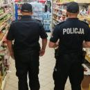Policjanci sprawdzali, jak średzianie stosują się doobowiązku zasłaniania ust inosa