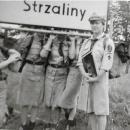 Bolesławieccy harcerze  na Wale  Pomorskim