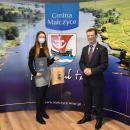 Najzdolniejsi uczniowie odebrali stypendia wójta gminy Malczyce