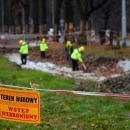 Nowy projekt torowiska zatwierdzony. Robotnicy wracają na Olszewskiego