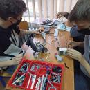 Feryjne zajęcia robotyczne dla uczniów TI PZS 2