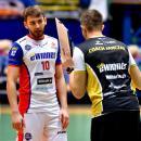Siatkarze eWinner Gwardii Wrocław wkońcu wygrywają na wyjeździe