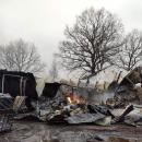 Wielki pożar wWilczycach – walczyło 30 zastępów strażaków