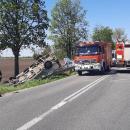 Zderzenie dwóch samochodów. Dwie osoby ranne