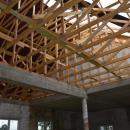Trwają prace związane zdokończeniem budowy świetlicy wiejskiej wRusku